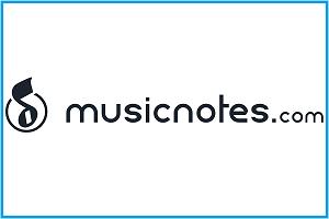 musicnotes.com- logo image