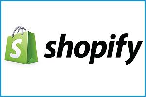 Shopify- logo image