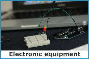 Electronic equipment and supplies image link